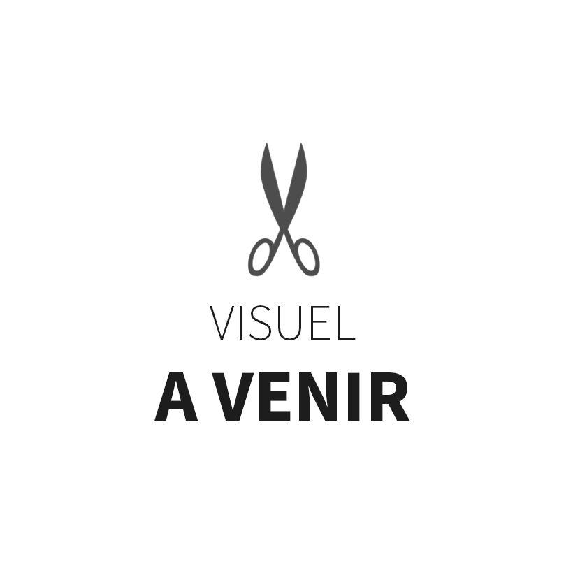 Coupon tissu double gaze France Duval 25 cm x 160 cm - Camel fleurs argent